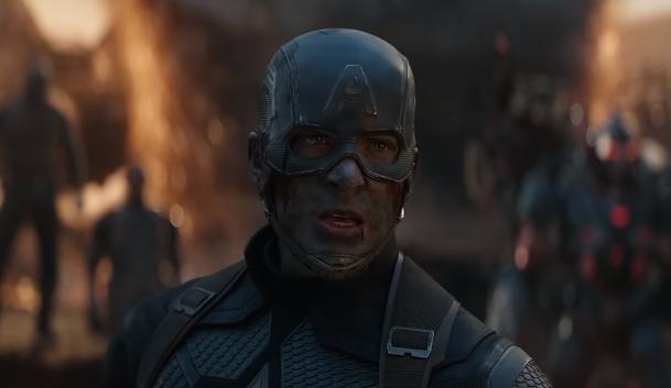 Avengers Endgame assemble scene