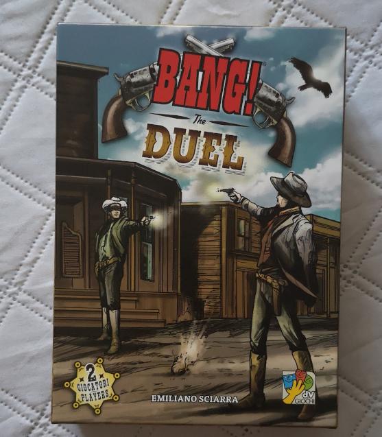 Bang Duel gioco da tavolo