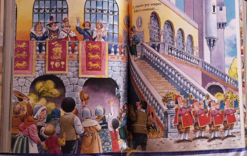 Cenerentola illustrata da Tony Wolf