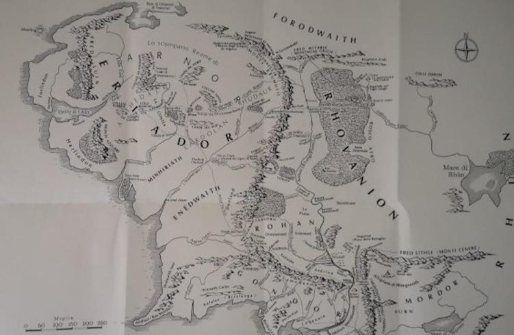 La Mappa della Terra di Mezzo