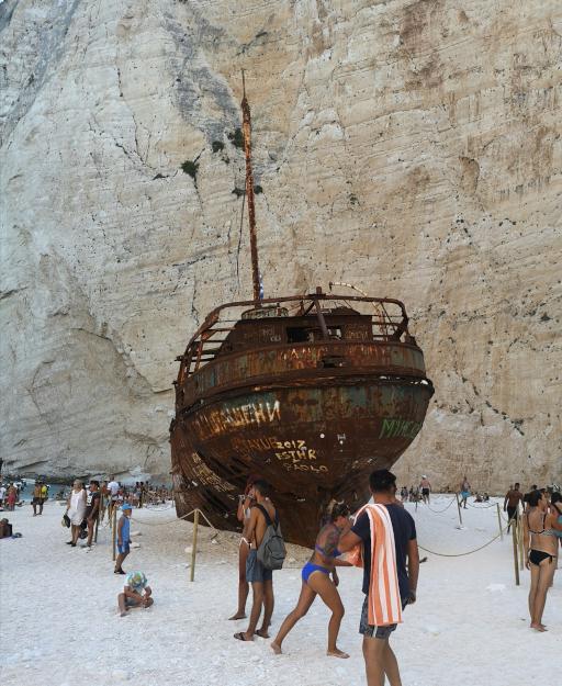 shipwreck zante