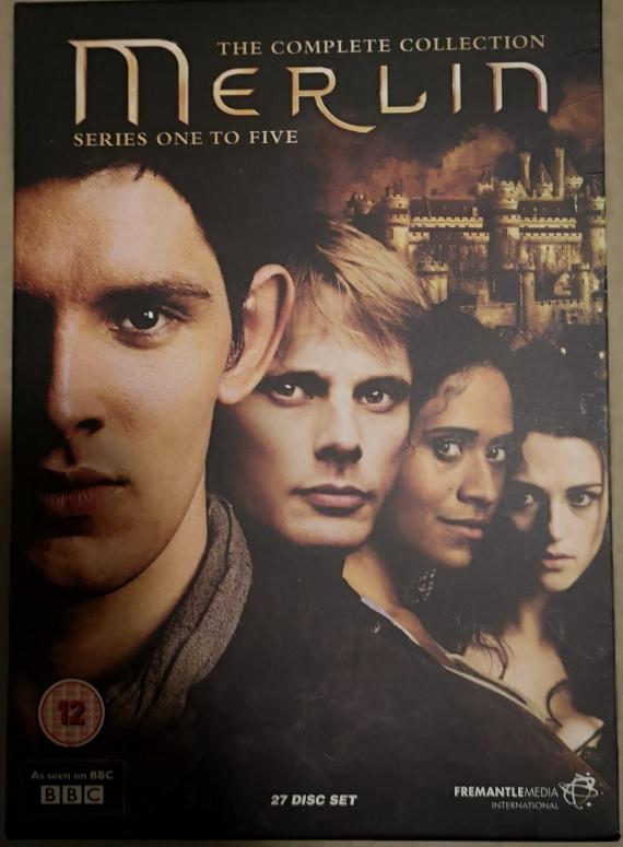 Merlin, cofanetto della serie tv