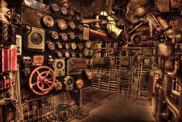 inside a second world war submarine