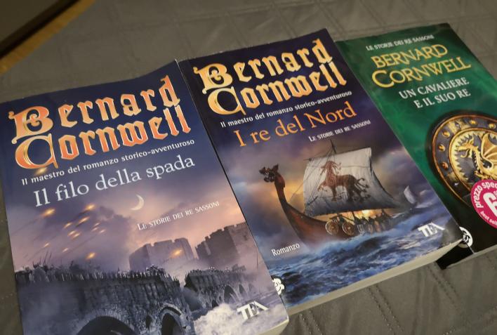I primi tre libri della saga dei re sassoni di Cornwell