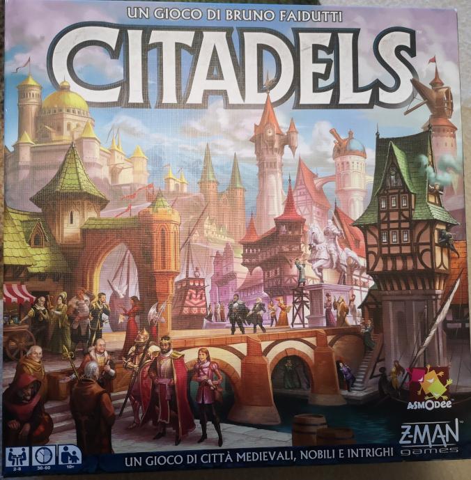 Citadels, il gioco da tavolo