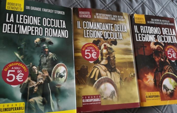 La legione occulta dell'Impero Romano, la trilogia fantasy storica di Genovesi