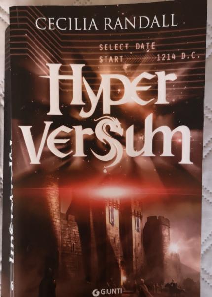 Hyperversum libro fantasy di Cecilia Randall