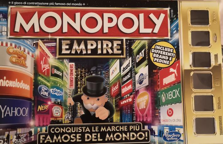 Monopoly Empire, scatola