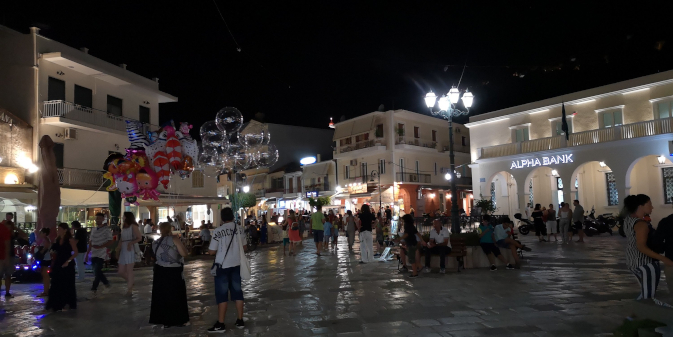 Zante by night