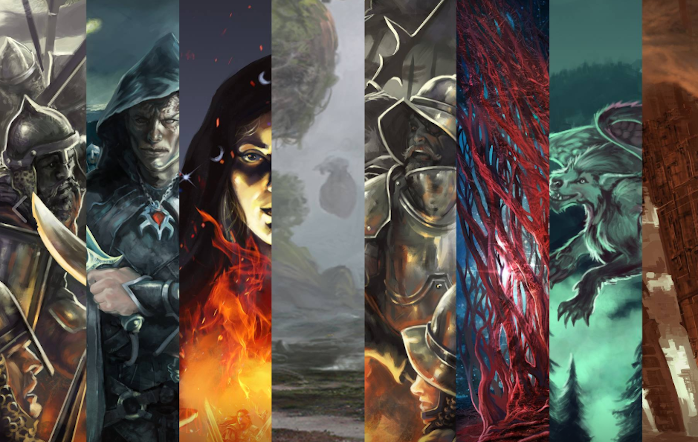 disegni fantasy epici