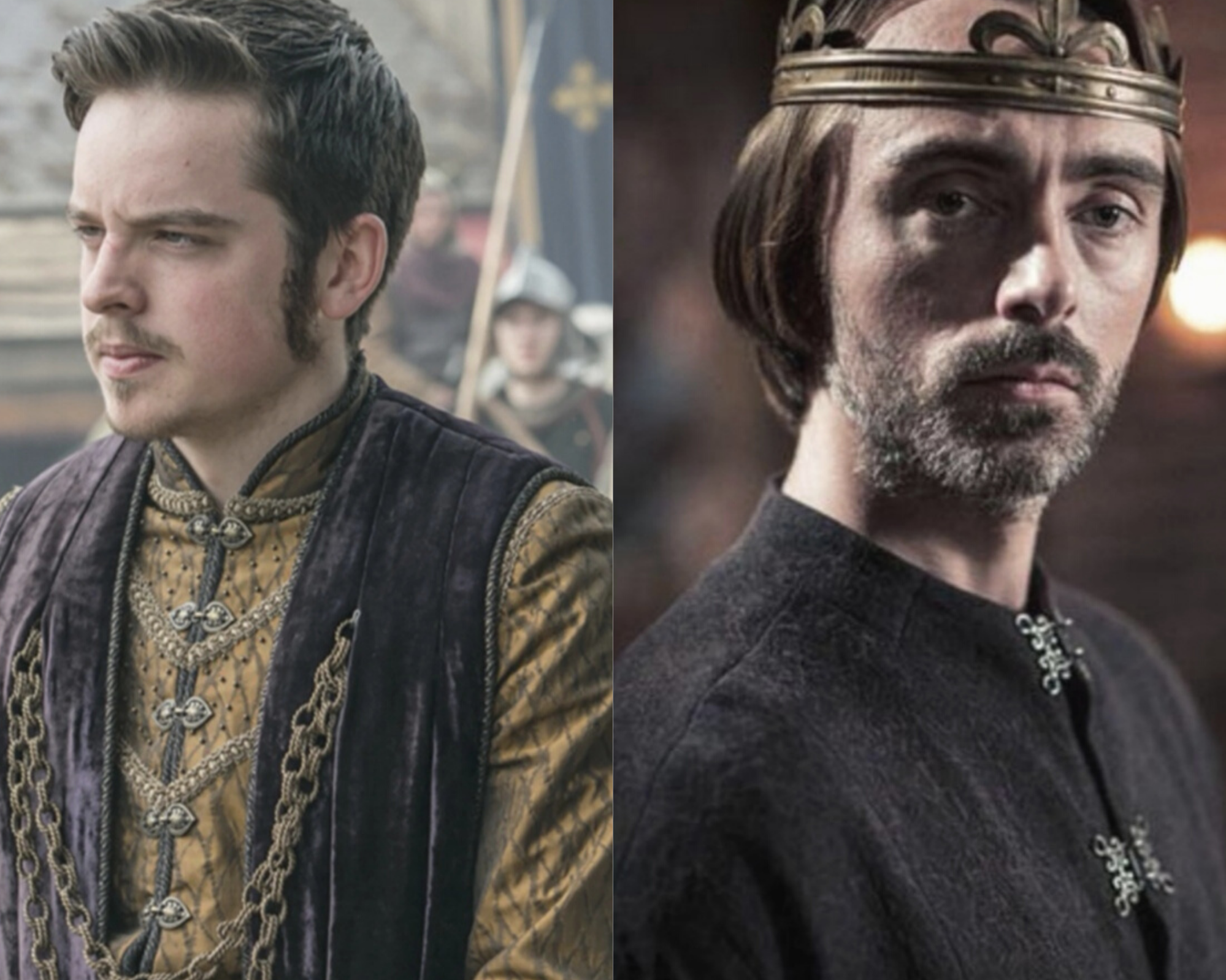 King Alfred comparison between Vikings and The Last Kingdom