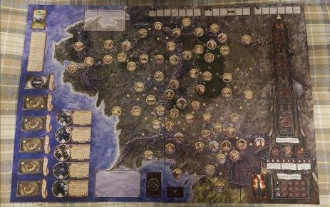 Tabellone di Gioco Signore degli Anelli - Le Avventure nella Terra di Mezzo