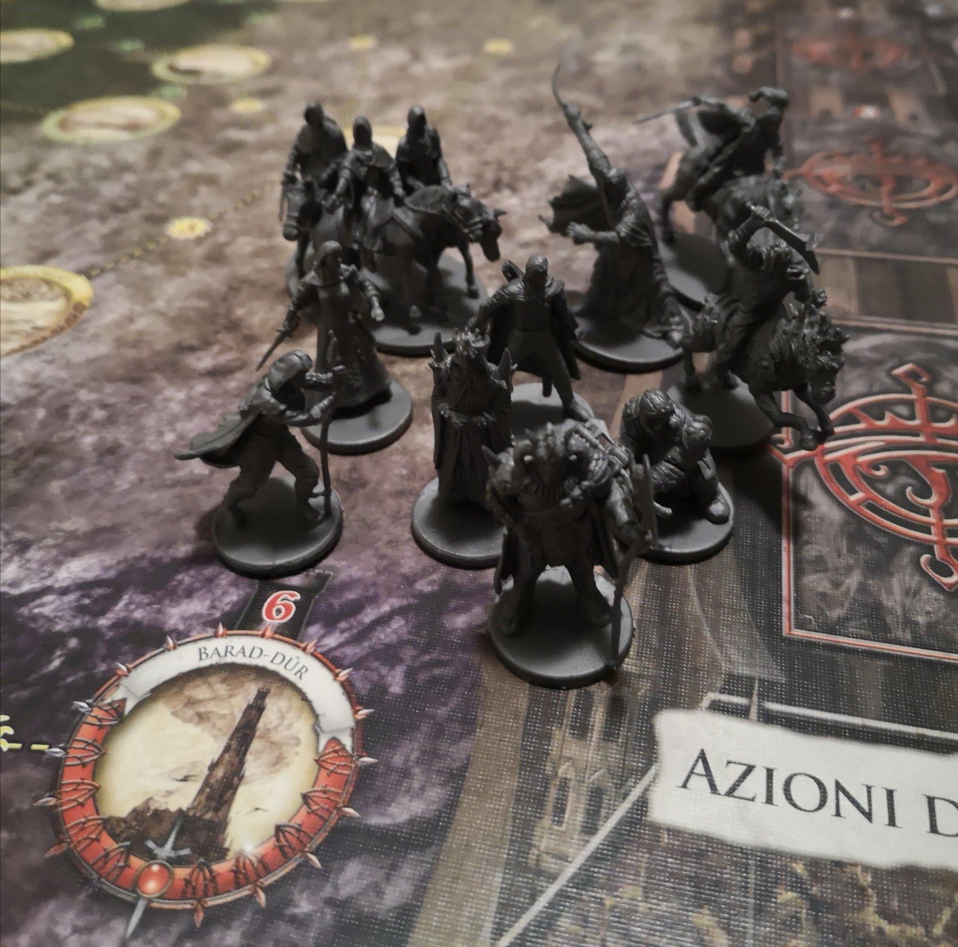 Miniature da dipingere del Signore degli Anelli Le Avventure nella Terra di Mezzo