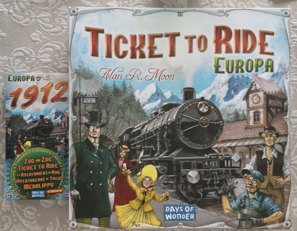 Ticket to ride table game