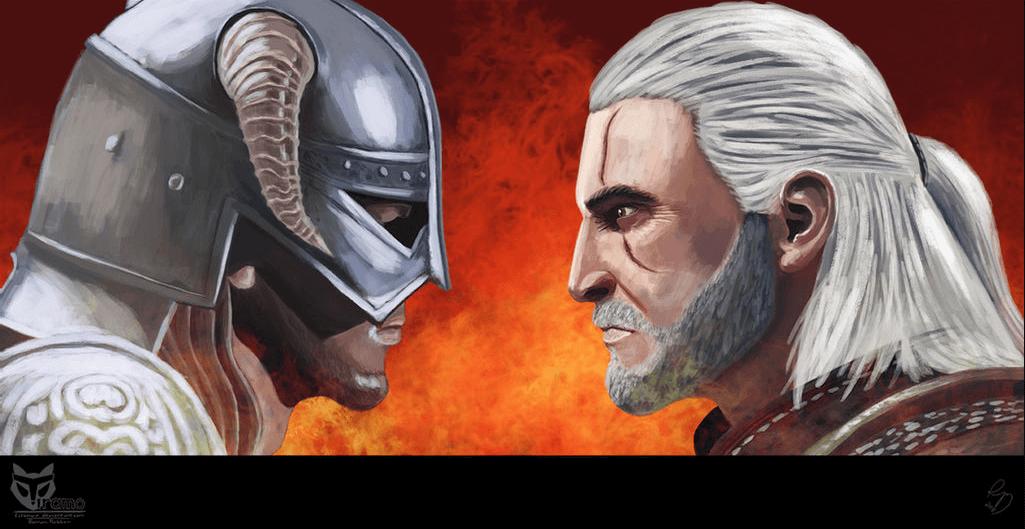 Skyrim vs The Witcher