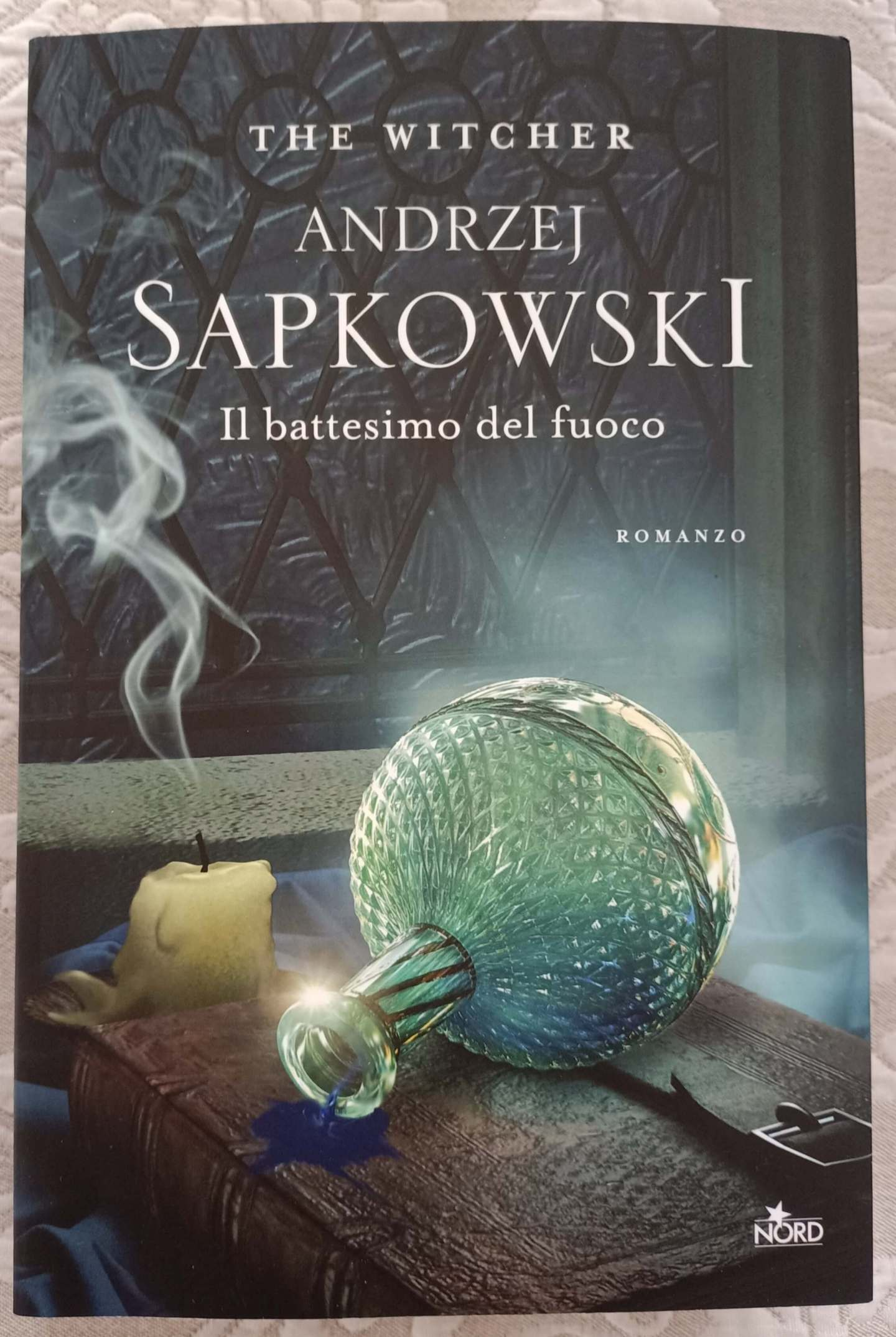 Il battesimo del fuoco - libro The Witcher